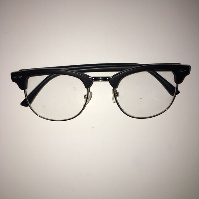 Clear Clubmaster Frames