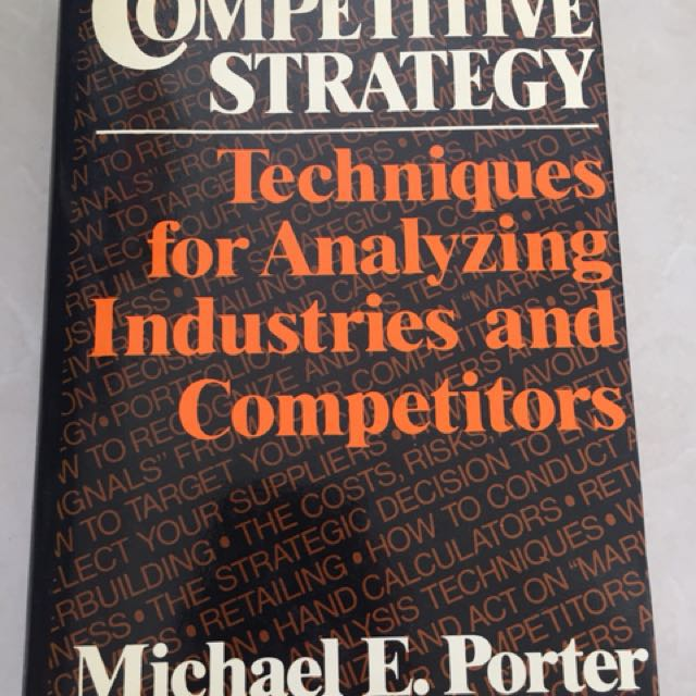 michael porter competitive strategy book pdf