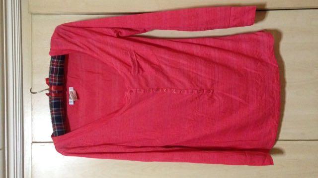Costa Blanca Pink Long Sleeves