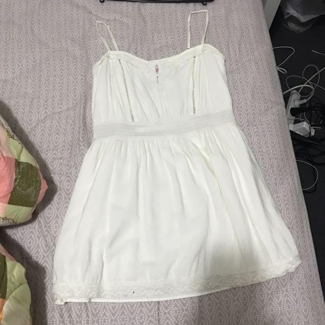 Cute summer white dress