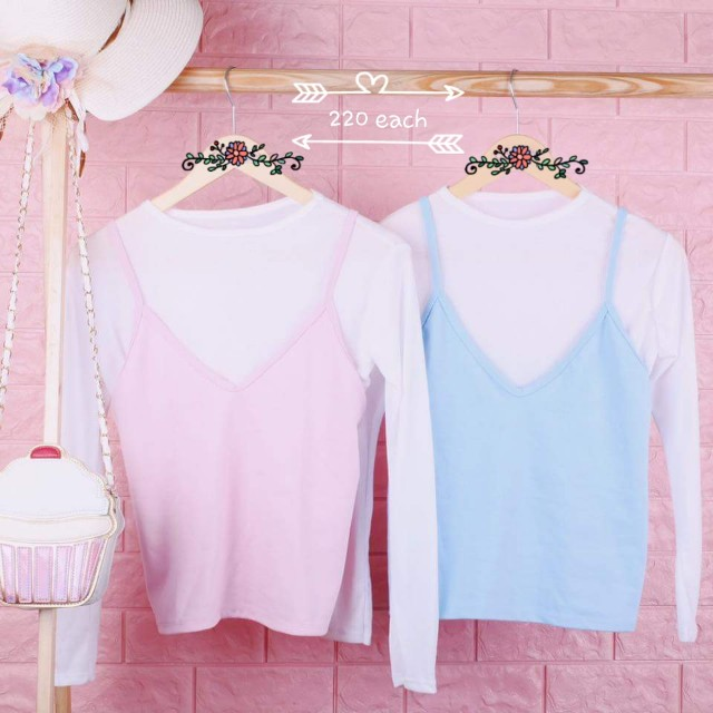 Cute top with inner