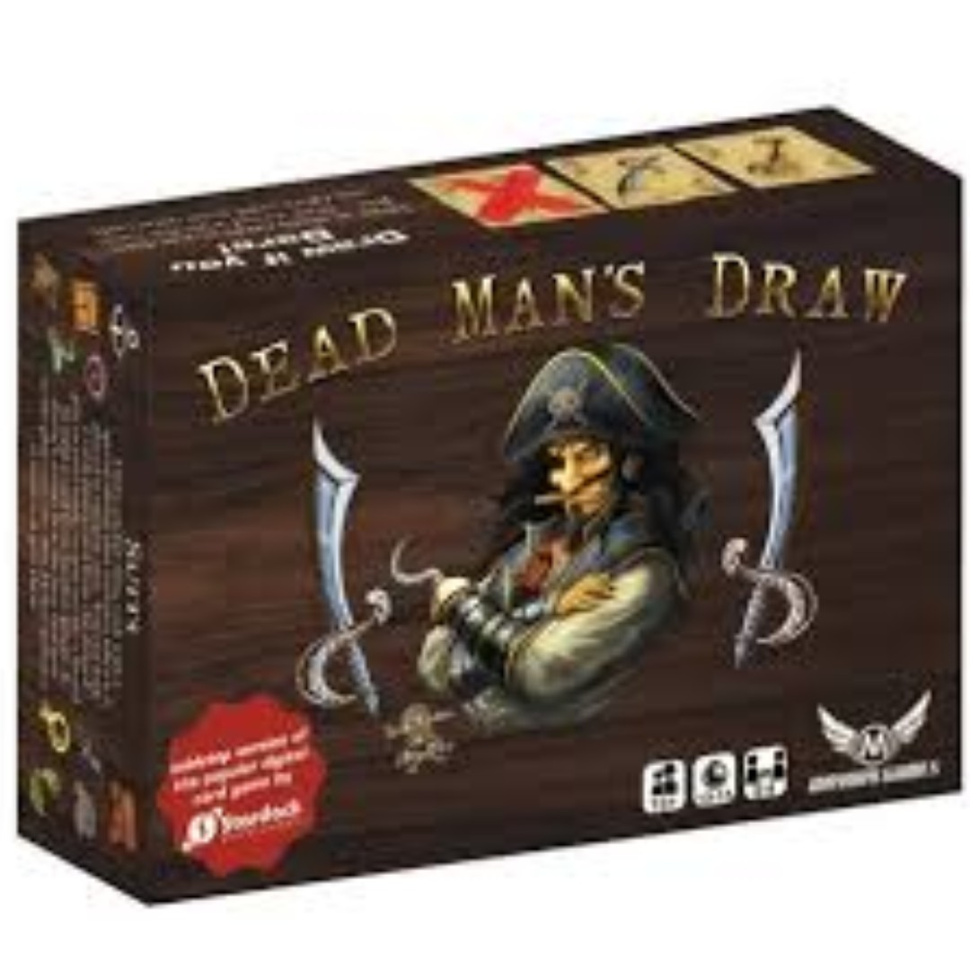 Authentic dead man's draw card game