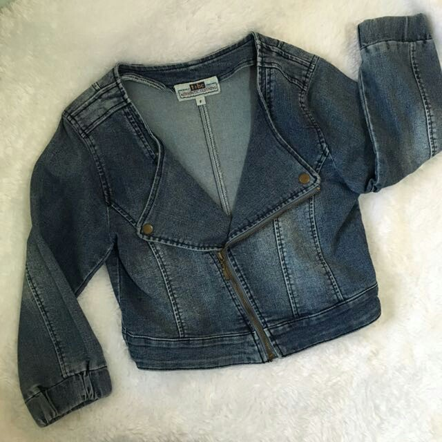 Denim Zippered Jacket