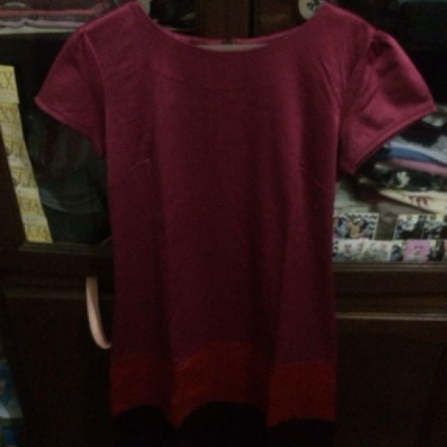 Dress pink esprise