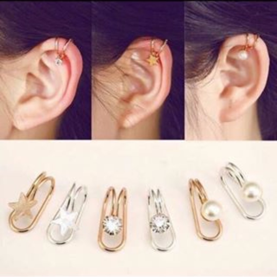 Ear Clip Piercing (1 piece / not pair)