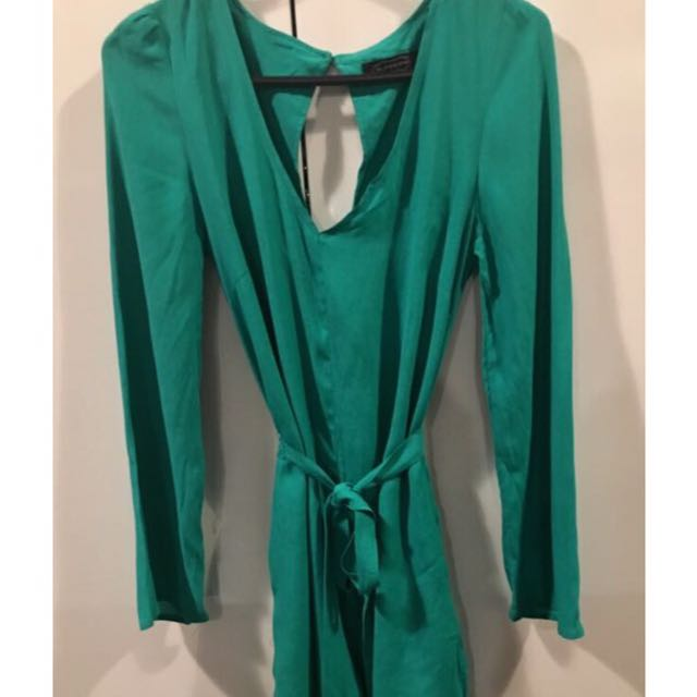 Emerald play suit