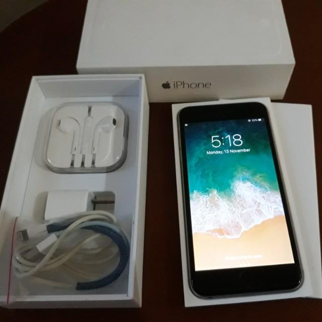 EUC iPhone 6 Plus 16GB Globe-locked