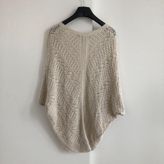 F21 Crochet Cardigan