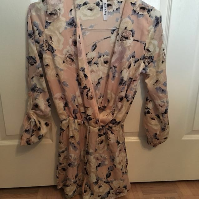 Floral romper from M boutique