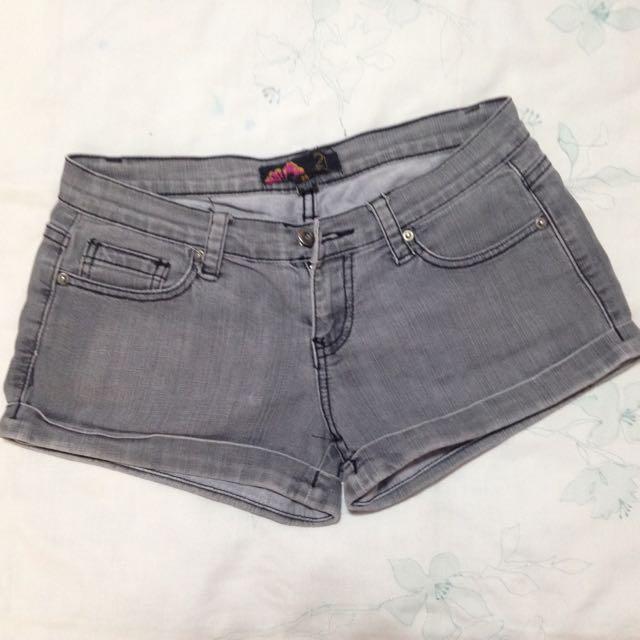 Forever 21 gray shorts