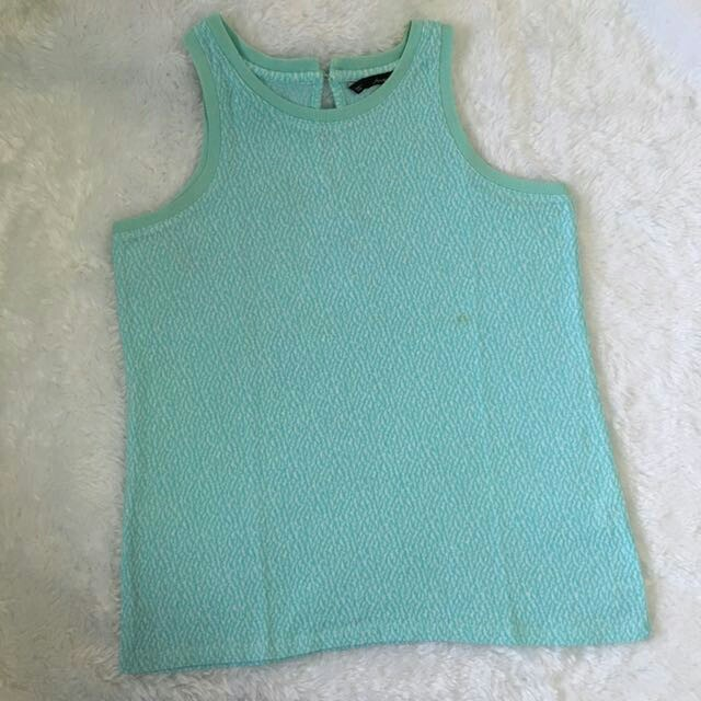 Forme Mint Green Sleeveless Top