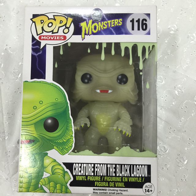 Funko Pop Creature From The Black Lagoon (glows in the dark)
