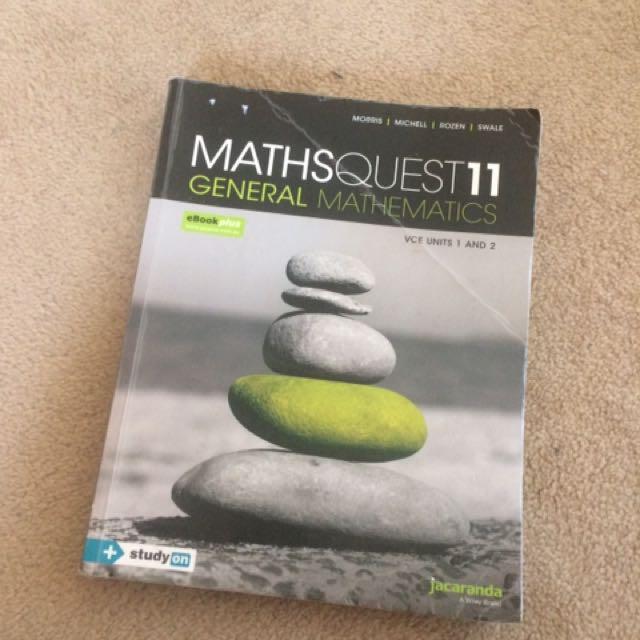 General maths 1/2
