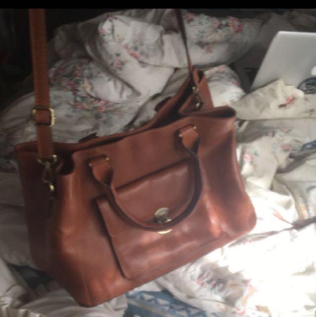 Genuine leather Colorado bag