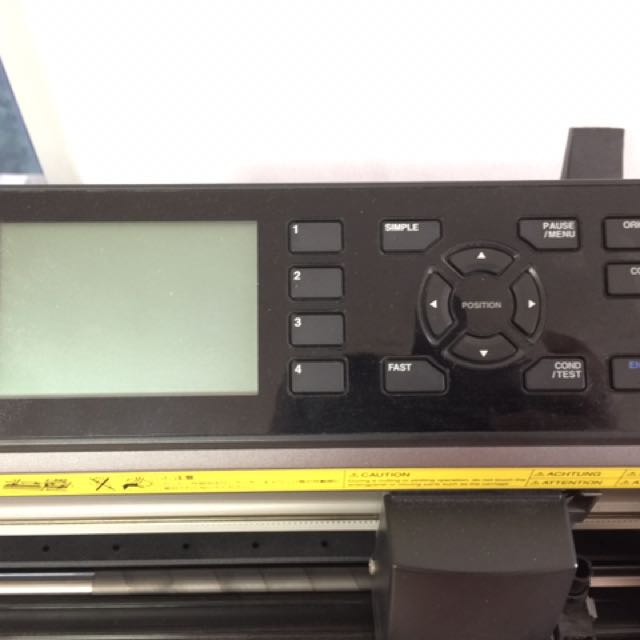 graphtec cutting plotter CE6000-60, Electronics, Computer