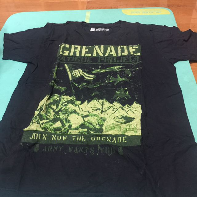 Grenade 經典 短t