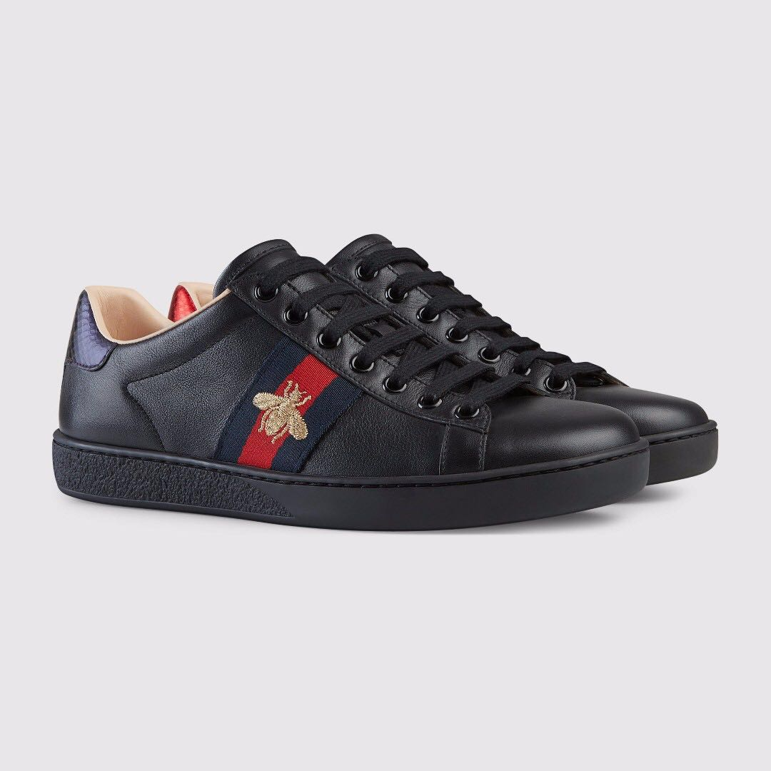 All gucci black shoes photo