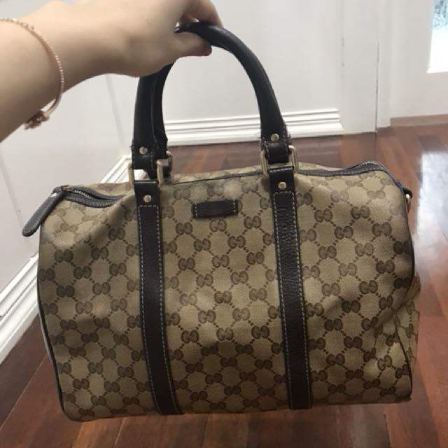 Gucci boston bag waterproof