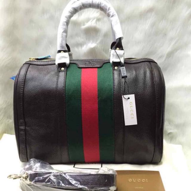 Gucci Doctor Leather Bag f49455657
