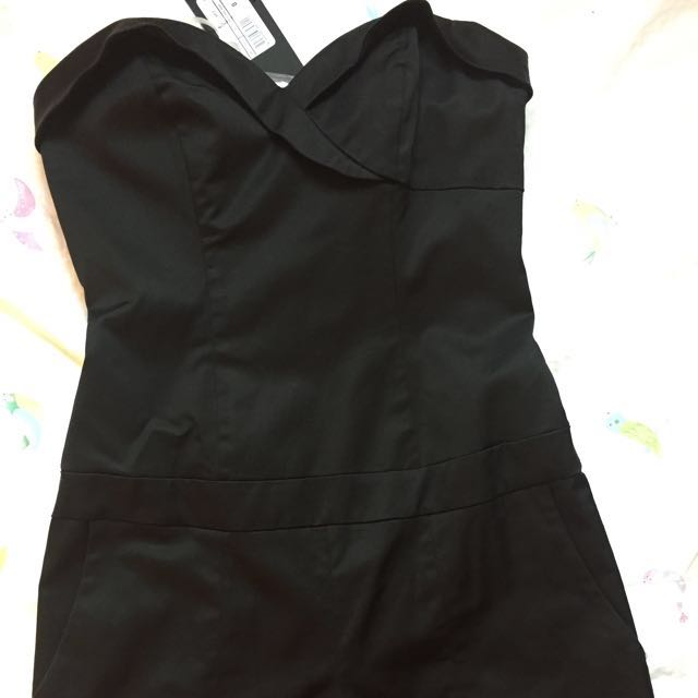 Guess By Marciano Romper(black)size 0