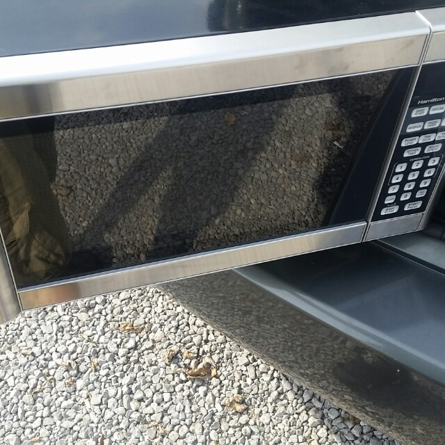 Hamilton beach top of the line microwave