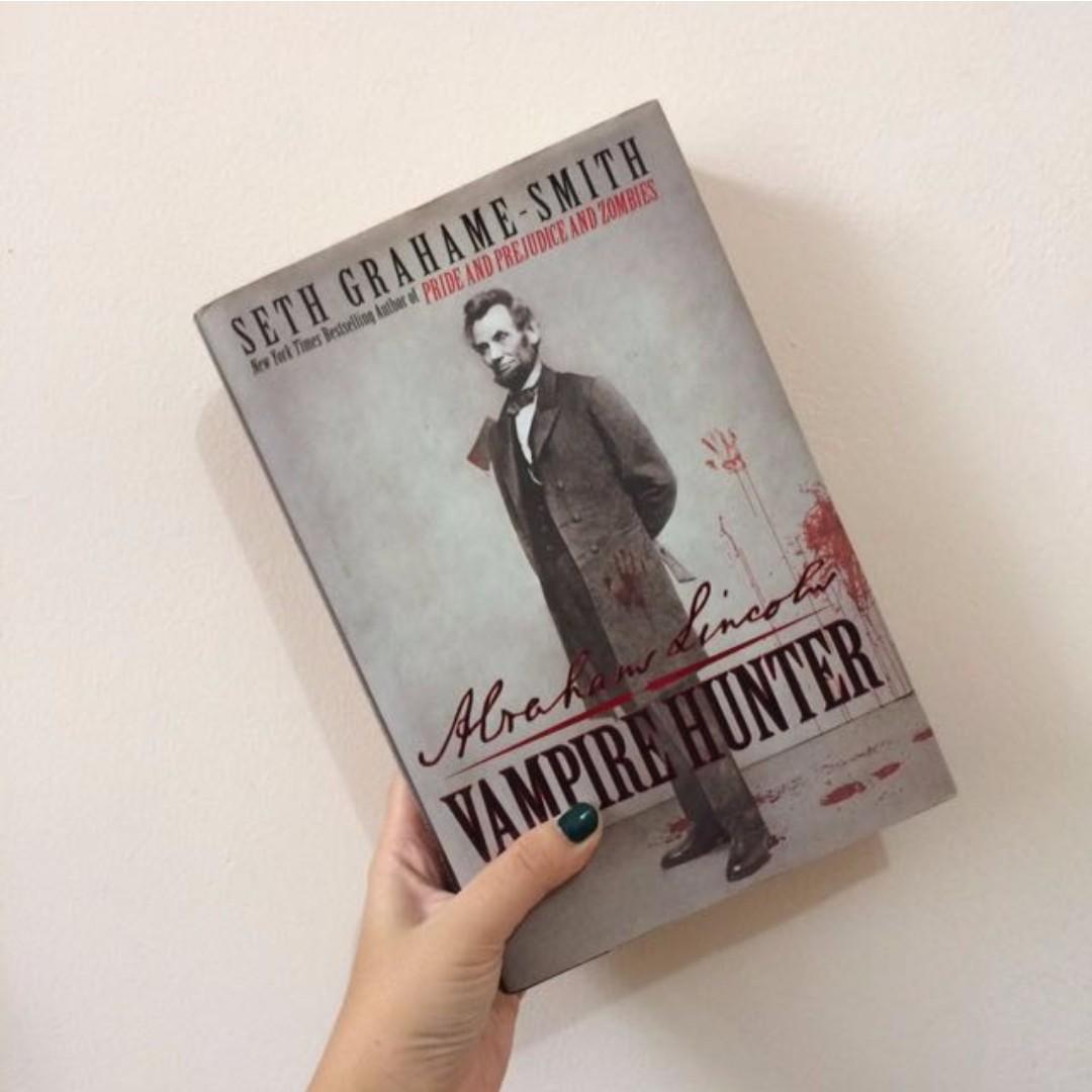 *Hardcover* Abraham Lincoln Vampire Hunter by Seth Grahame-Smith