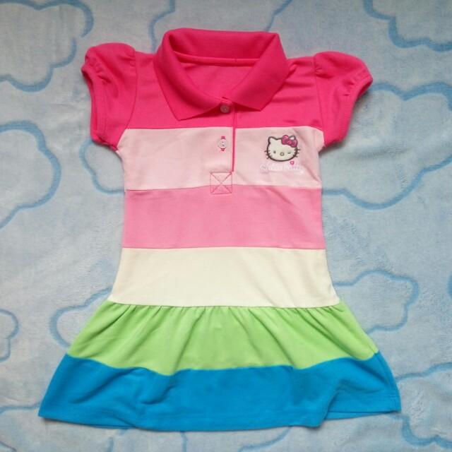 Hello Kitty Rainbow Dress preloved