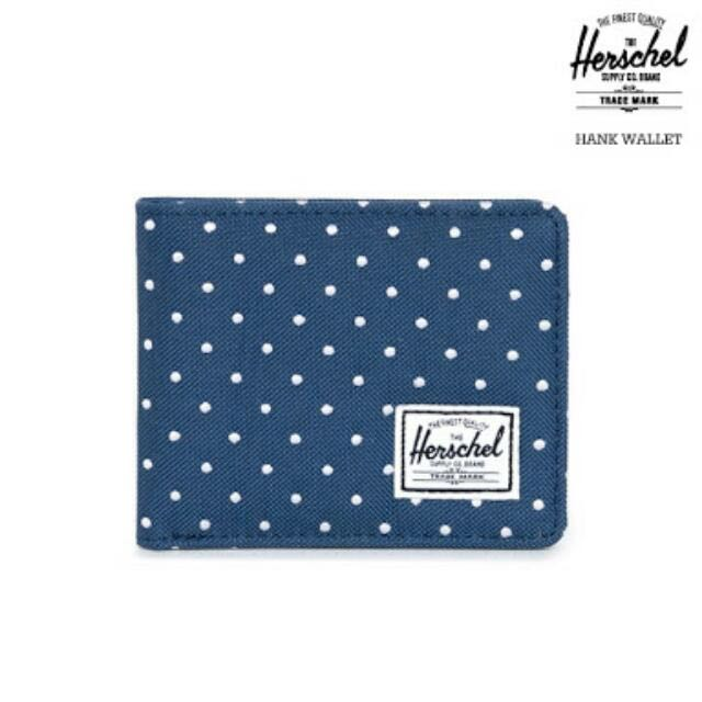 Herschel Hank Embroidered Polka Wallet