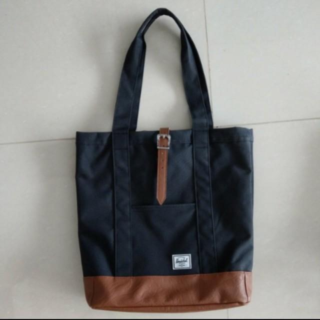 bbd847d0194 Herschel Market Tote Bag Brand New, Men s Fashion, Bags   Wallets on ...