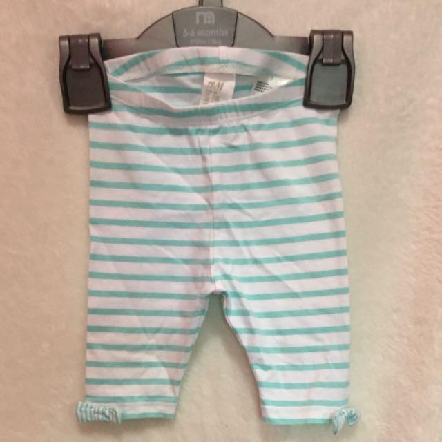 H&M celana 3-6 bulan