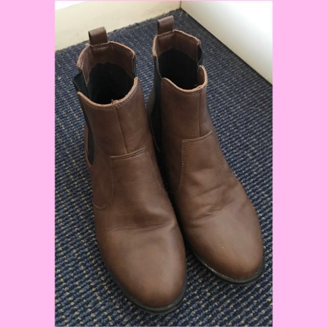 H&M flat ankle boots
