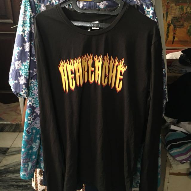 H&M Heartache Sweatshirt