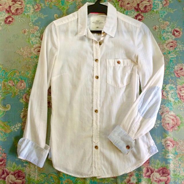 H&M white Long Sleeves