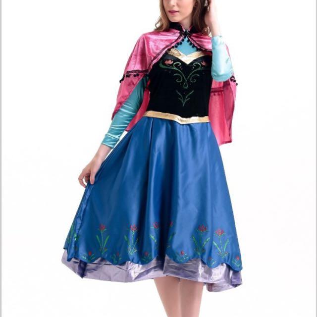 photo photo photo  sc 1 st  Carousell & IN STOCK Anna Costume Anna Dress Frozen Costume Adult Disney ...