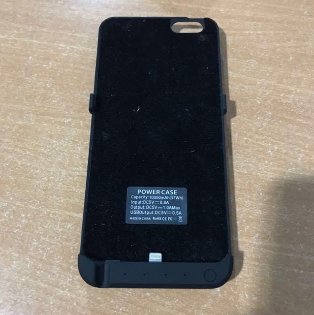 Iphone 6+/6s+ powerbank case