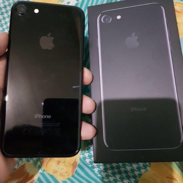 Iphone 7 jetblack 32gb