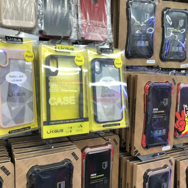 Iphone c case and screen protectors