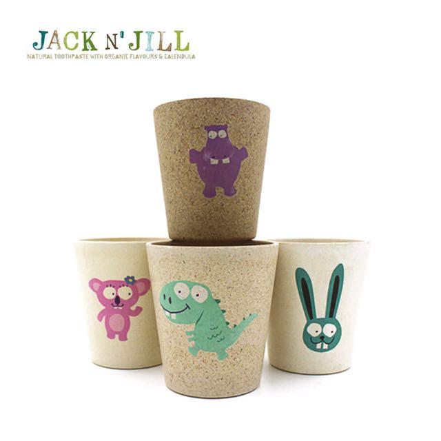 澳洲Jack & Jill 兒童安全純天然漱口杯