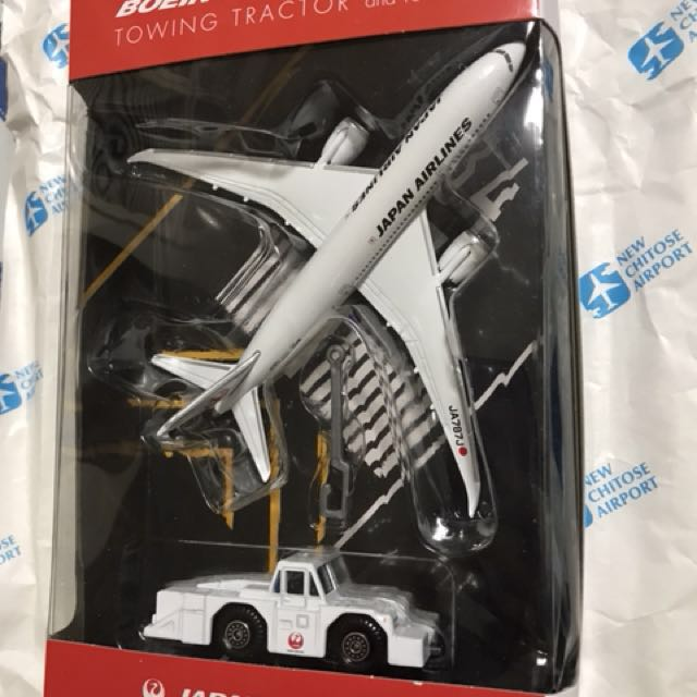 Japan Airlines 787 Model (Welly)
