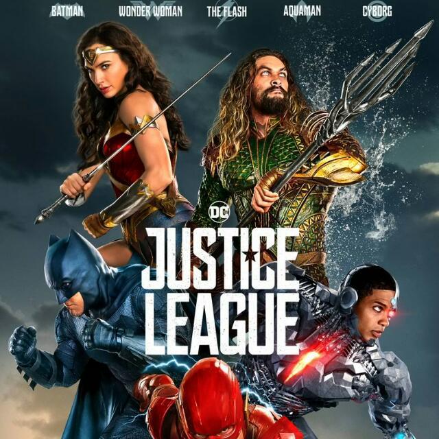 Justice League Movie Tickets (4pcs)