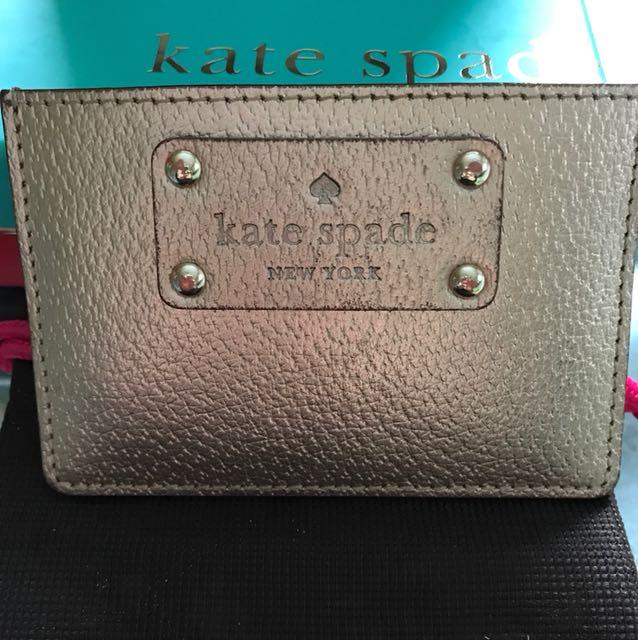 Kate Spade Rose Gold Card Holder