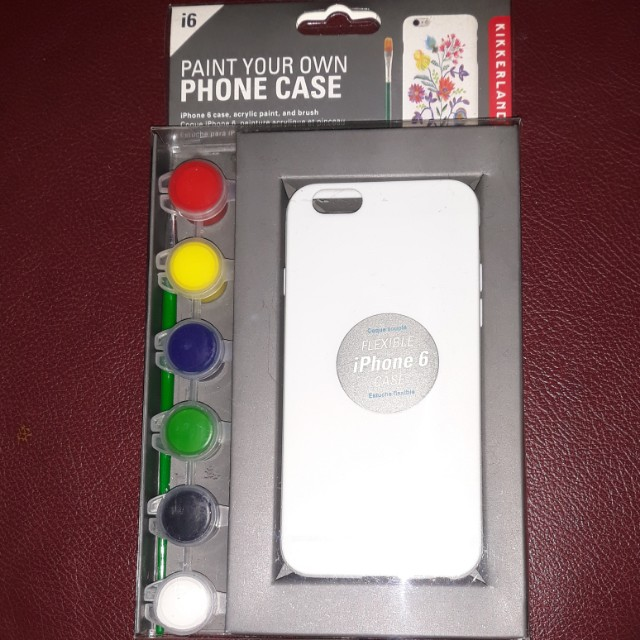 Kikkerland Paint your own phone case - iphone 6