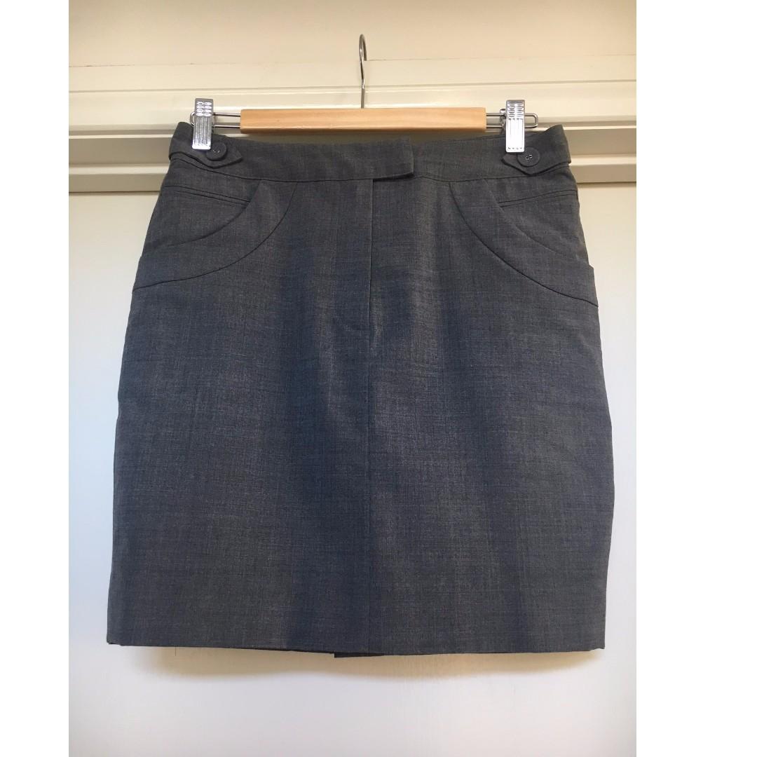 Ladies Oxford Skirt Size 8