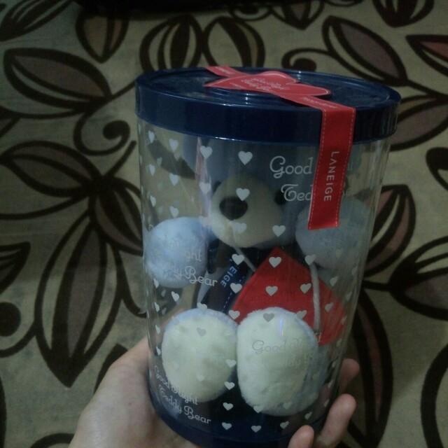 Laneige Good Night Teddy Bear
