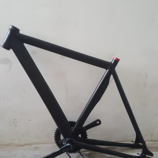 Leader track frame(black), Bicycles & PMDs, Bicycles on Carousell