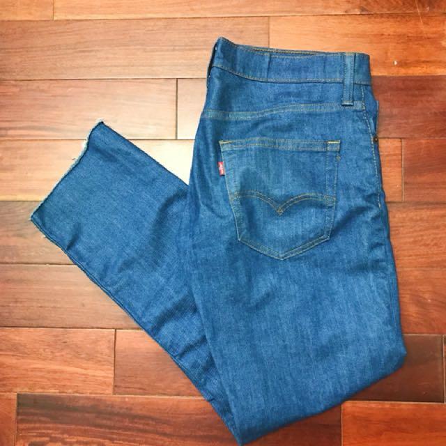 Levis 水藍牛仔褲