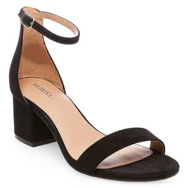 LOOKING FOR Strappy Block Heels
