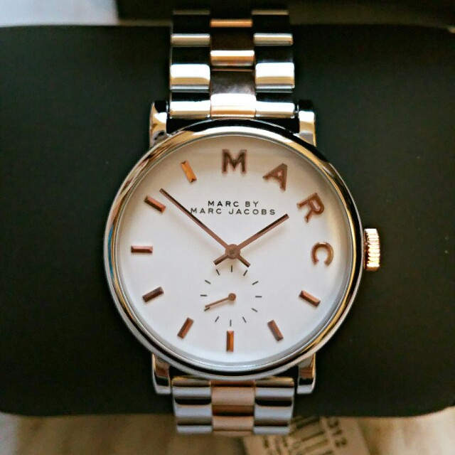 Marc by Marc Jacobs Two Tone Stainless Steel Watch