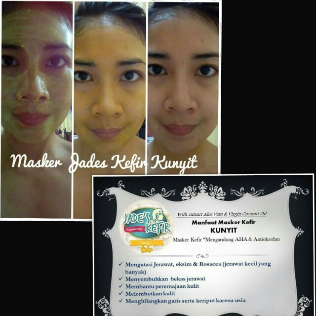 Masker Kefir Kunyit by Jades Kefir, Health & Beauty, Skin, Bath, & Body on Carousell
