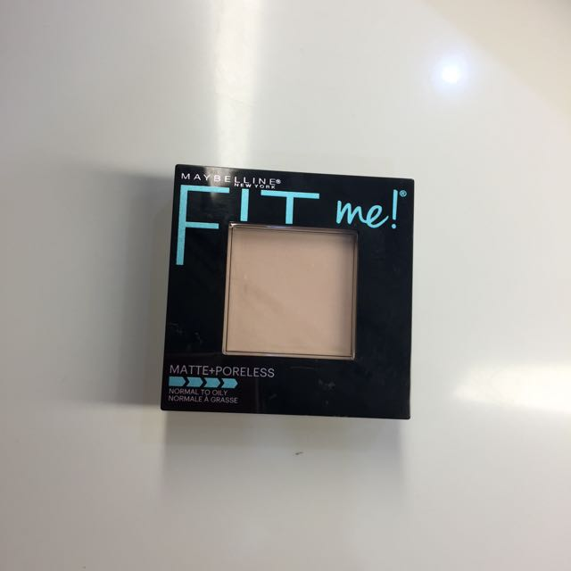 Maybelline Fit Me Matte Poreless Pressed Powder